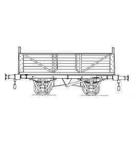 NVM 20.06.045 Engelse mineral wagon (2-assige open wagon) voor spoor I