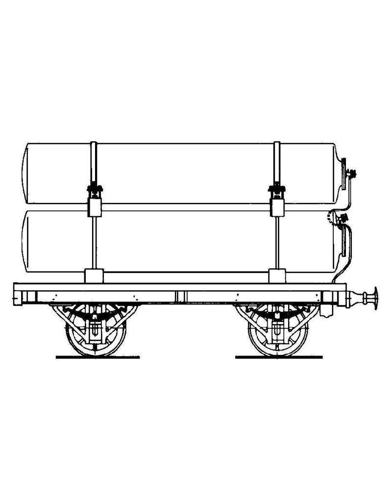 NVM 20.06.051 HIJSM gastransportw. A, open wagen 1080-5, gesl wagen 1-16,25-72 voor spoor 0