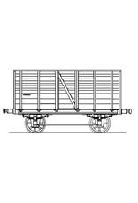 NVM 20.06.052 HSM veewagen 64 (1845), overdekte wagon 18 voor spoor 0
