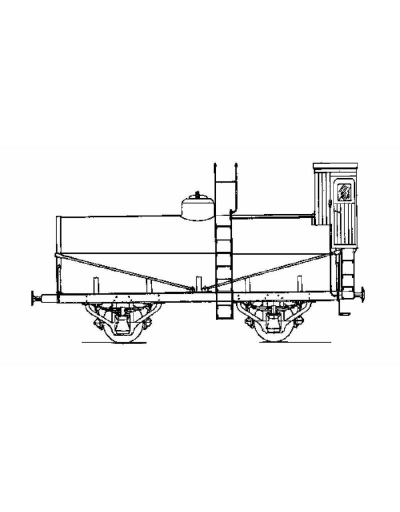 NVM 20.06.054 petroleumwagen SS/NS 155201t/m 208, 97209 t/m 210 voor spoor 0