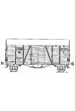 NVM 20.06.056 NS goederenwagen Deutsche Reichsbahn Ghs voor spoor 0