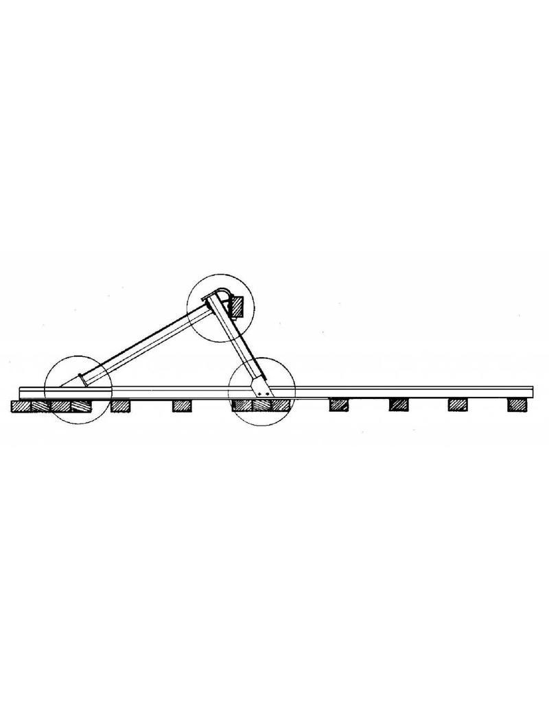 NVM 20.07.007 NS stootblok voor spoor 0