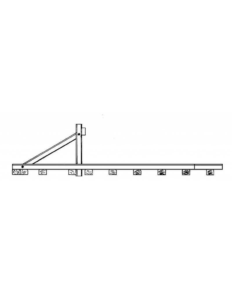 """NVM 20.07.008 stootblok NS """"Hercules jr."""" voor spoor 0"""