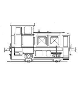 NVM 20.12.002 industrie-rangeerlocomotief Deutz voor spoor 0
