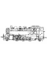 """NVM 20.20.009 CD-Stoomlocomotief Baureihe 64; voor 7,25"""" spoor; Autocad tekeningen, afb. en beschrijving"""