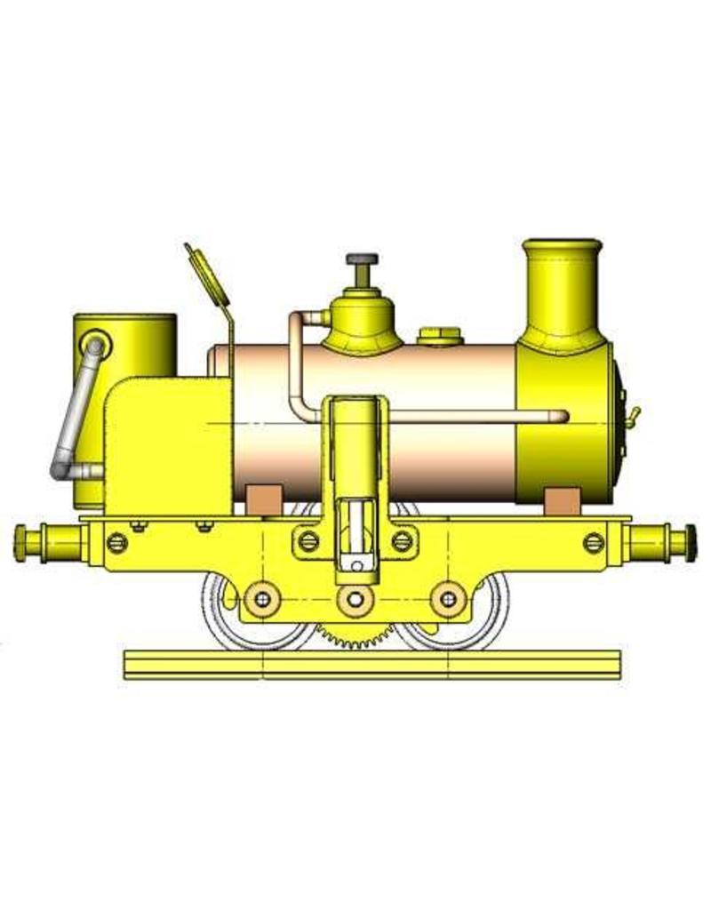 """NVM 20.20.015 CD - """"Cracker"""", B-locomotief voor spoor 1"""