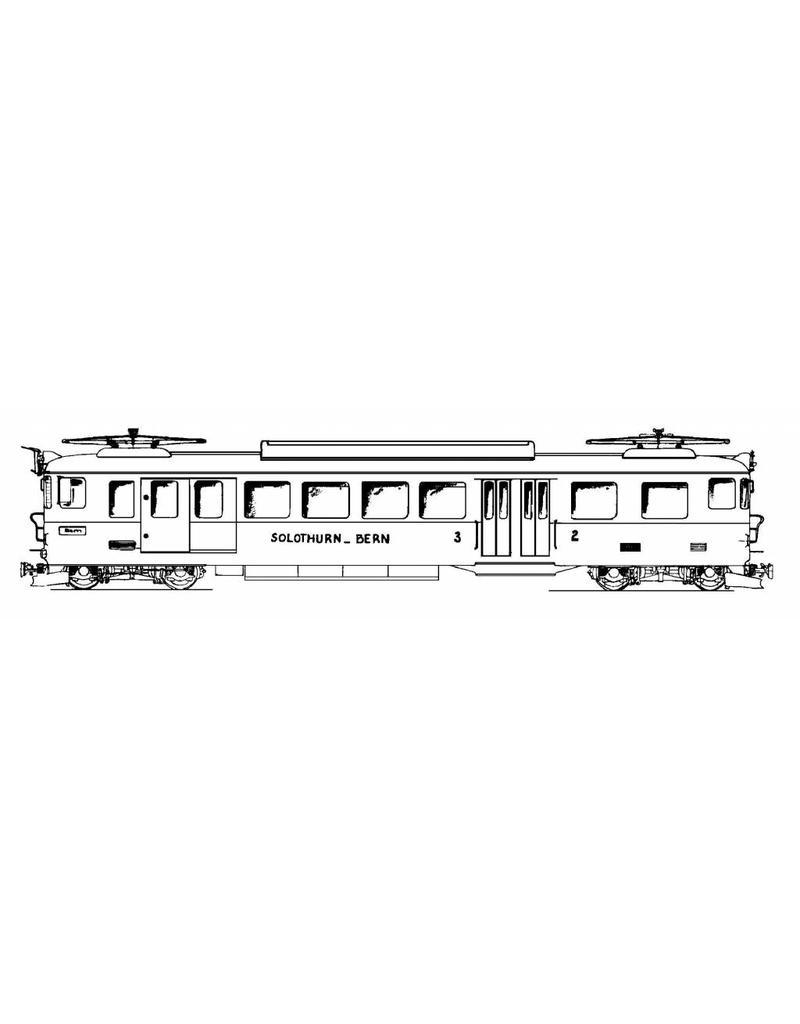 NVM 20.33.001 motorwagen BCF E4/4 Solothurn-Bern-Bahn