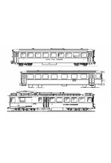 NVM 20.33.006 3 wagenstel BD He 4/4 Luzern-Stanz-Engelberg