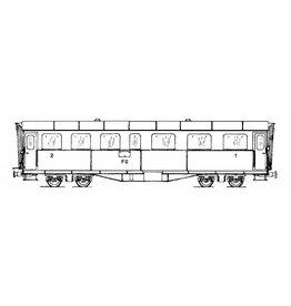 NVM 20.35.003 rijtuig AB4u 4162-63 Furka-Oberalpbahn voor spoor H0