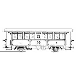 NVM 20.35.005 personenrijtuig A 11-13 Rhaetische Bahn voor spoor 0