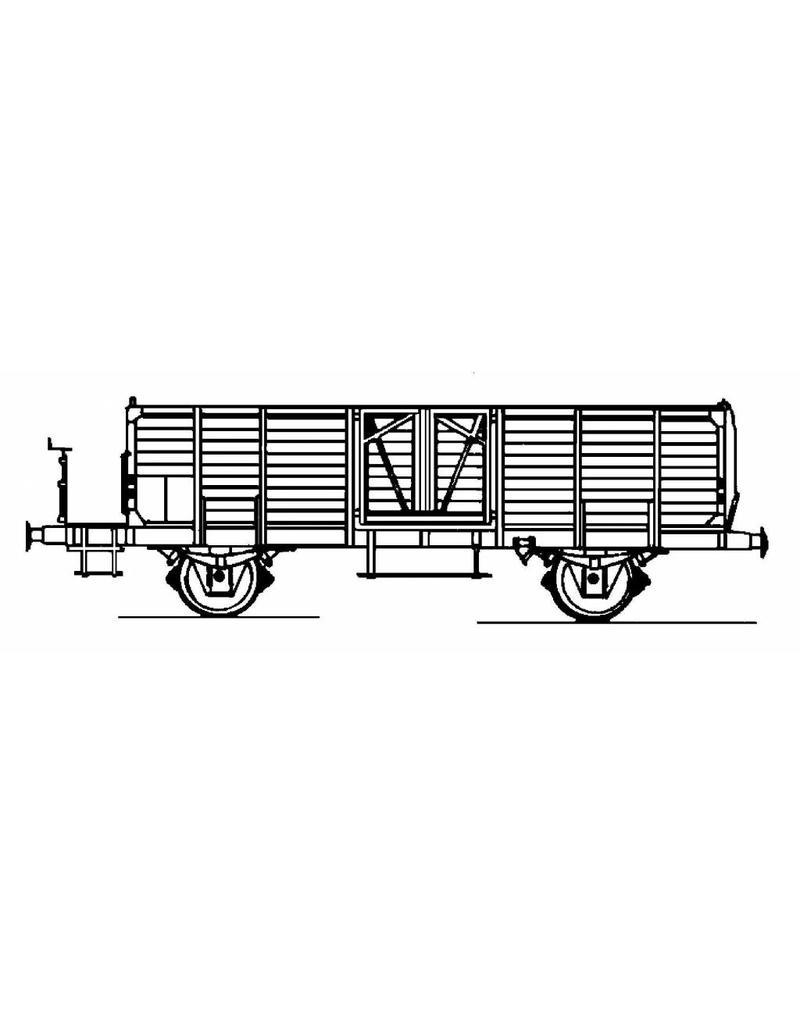 NVM 20.36.003 open goederenwagen E 2185.501 5000-5685 SBB-CFF voor spoor H0
