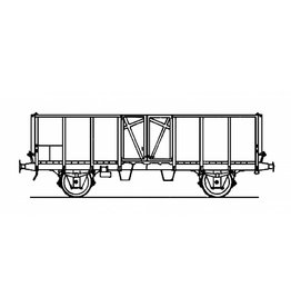 NVM 20.36.004 open goederenwagen E 2185.500 0000-0407 SBB-CFF voor spoor H0