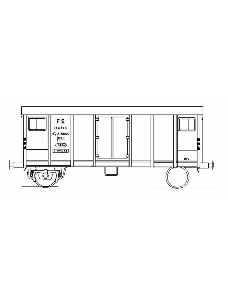 NVM 20.46.002 koelwagen Hcg 318000 FS voor spoor 0