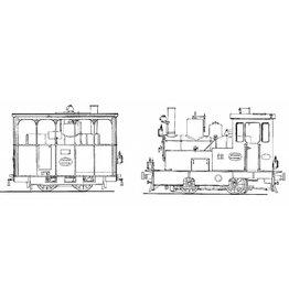 NVM 20.70.010 GOSM stoomlocs 6-8 (1902/3/5), 9-11, 12 (Henschel 1921/26)