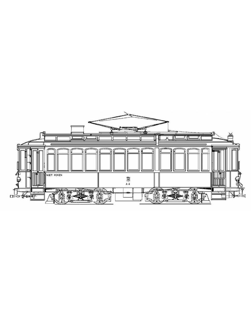 """NVM 20.73.009 motorrijtuig NZHVM A1-30 - """"Metallurgique"""" - """"Kikker"""" ex ESM"""