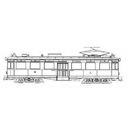 NVM 20.73.018 motorrijtuig NZHVM A201-202, aanh. Rijtuig B201-202