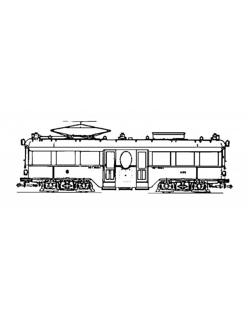 NVM 20.73.020 motorrijtuig NZHVM A512-516, aanh. Rijtuig B516-521 voor spoor I