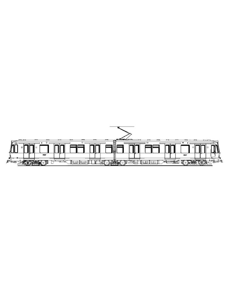 NVM 20.73.033 RET Metro sneltramrijtuig 5201-5271voor spoor 0 en spoor I