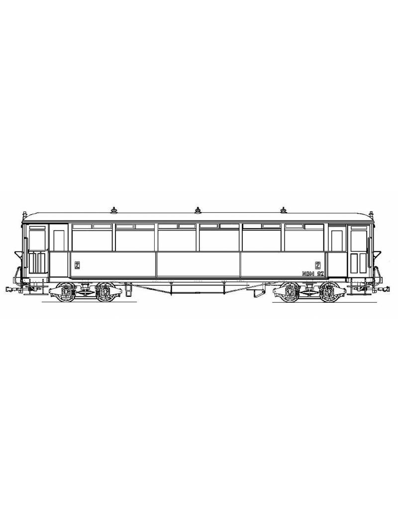 NVM 20.75.004 volgrijtuig OSM/NBM 61-66, 91-92 (Werkspoor, Beijnes, 1925)