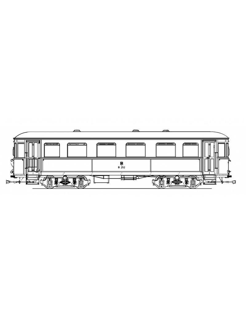 NVM 20.75.008 aanhangrijtuig NZHVM B252-253, ex ESM 62, 64