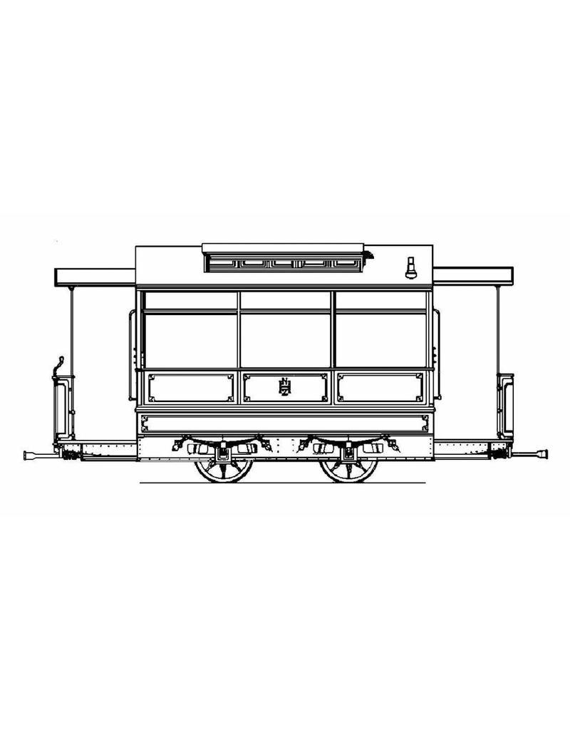 NVM 20.75.010 aanhangrijtuigen NZHVM B22-38, B41-43 ex NZHSTM en NRS, voor spoor I