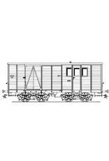 NVM 20.75.017 NTM post/bagagewagen D1-12 voor spoor 1