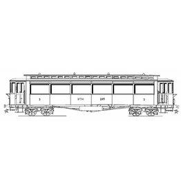 NVM 20.75.026 NTM personenrijtuig C 201-206 ((Werkspoor 1915) voor spoor I