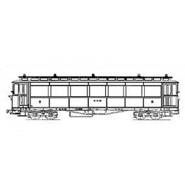 NVM 20.75.033 tramrijtuig NCS/SS/NS BC221, 224-8 voor spoor 0