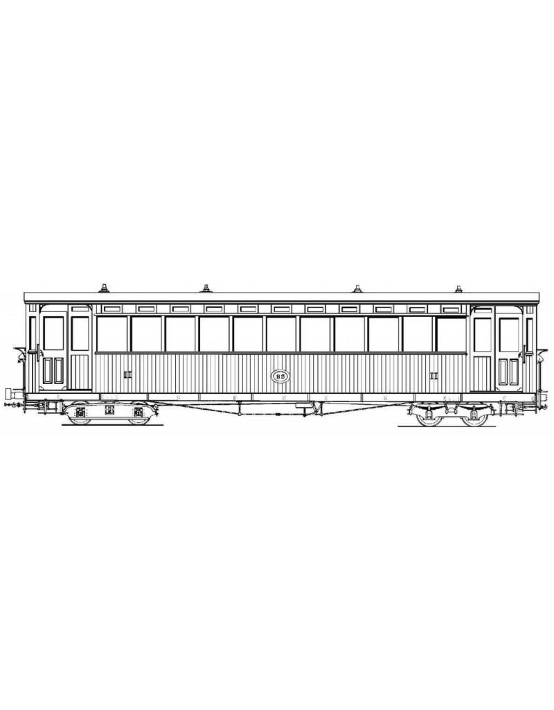 NVM 20.75.037 Tramweg Zutphen-Emmerik, werkliedenrijtuig B5 (Allan, 1908)