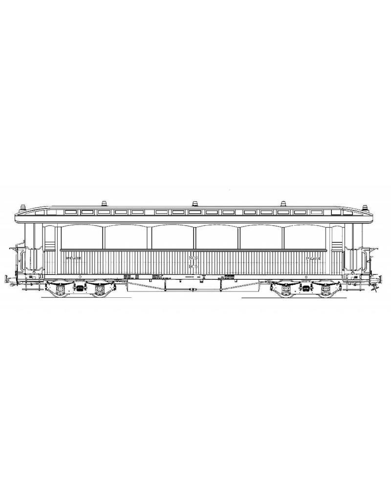 NVM 20.75.038 tramrijtuig NCS BC 5-6; Zuiderzeetramweg