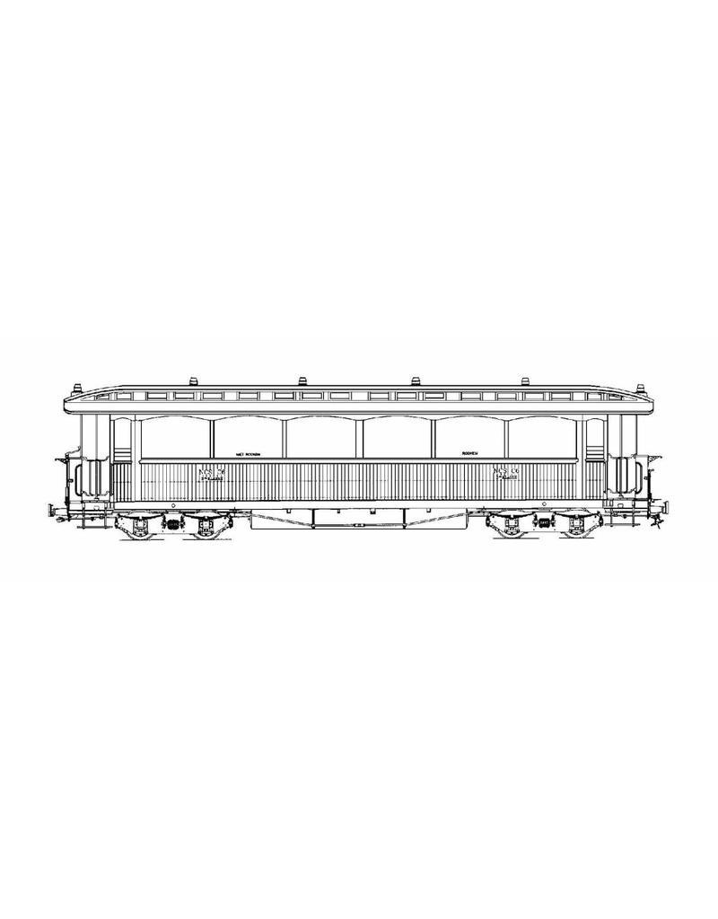 NVM 20.75.039 tramrijtuig NCS C 6-8; Zuiderzeetramweg