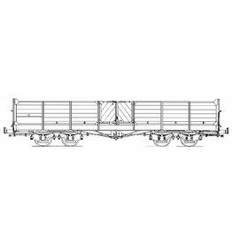 NVM 20.76.001 open goederenwagen SS81-86; Zuiderzeetramweg, voor spoor 0