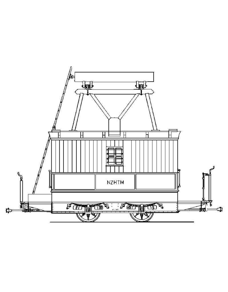 NVM 20.76.004 werkmaterieel NZH; H202-204, N10-12; voor spoor I