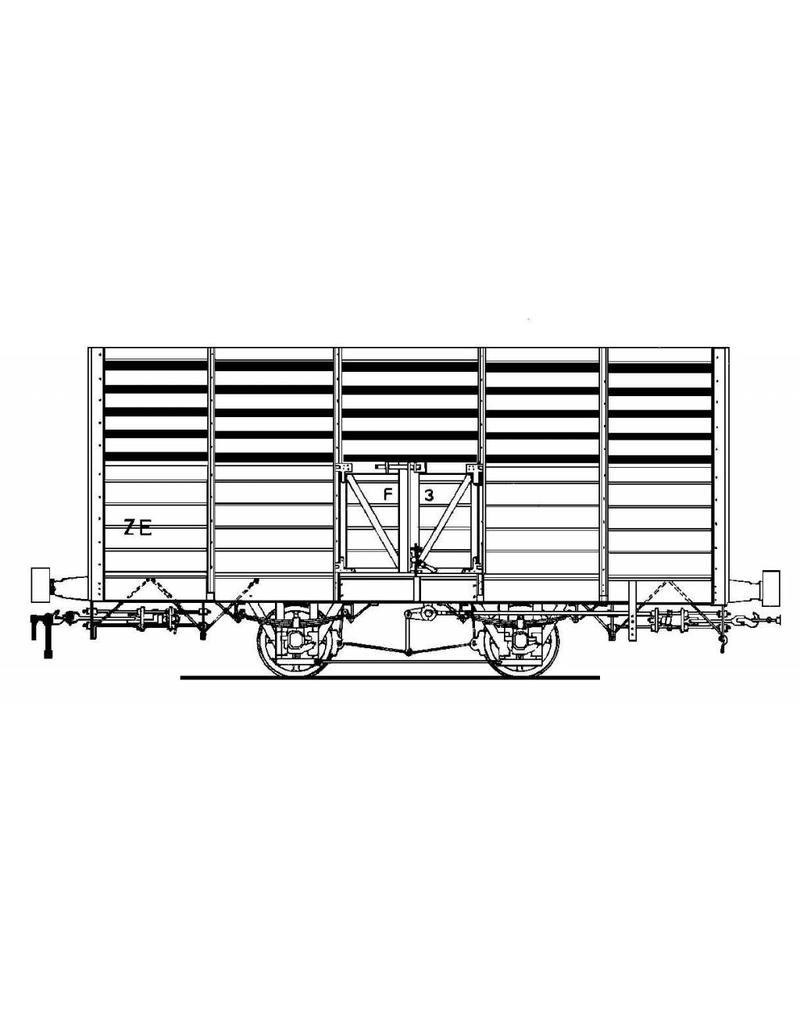 NVM 20.76.011 tramweg ZE;veewagens F1-10, open goederenwagens G1-4 en H1, gesloten goederenwagens CH1,2