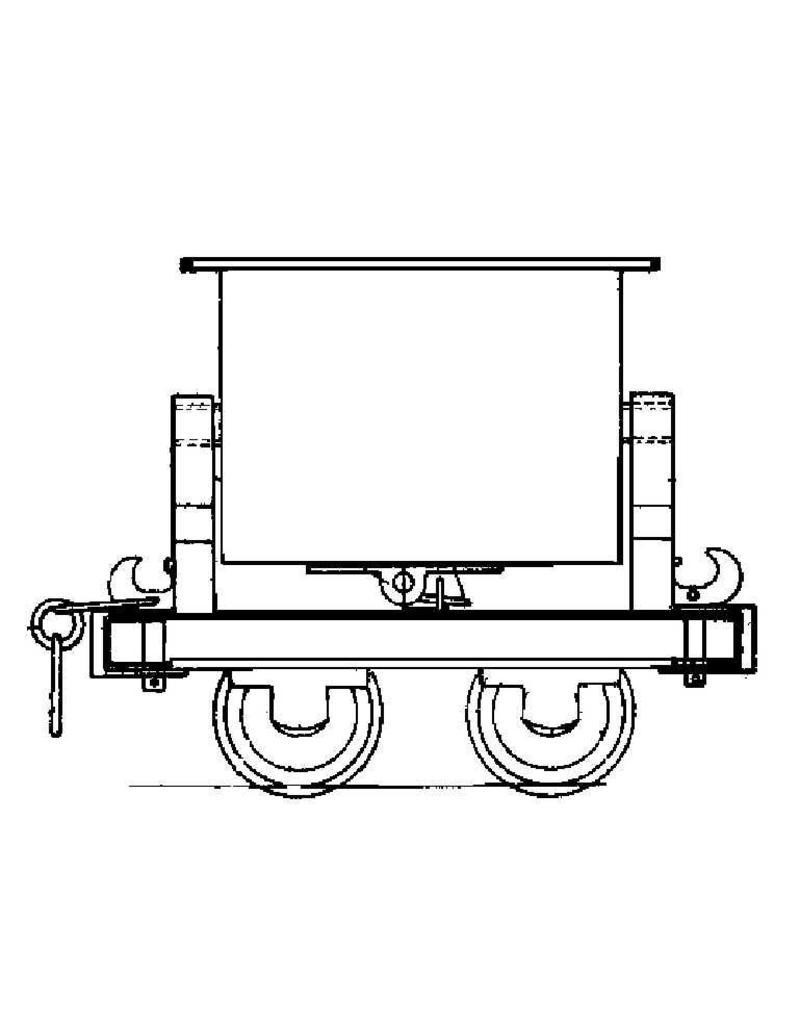 NVM 20.79.001 kipwagen voor zandtrein; voor spoor 0