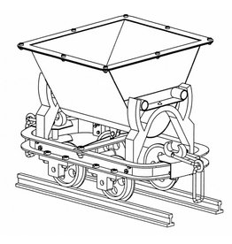 NVM 20.79.001/A Kipwagen voor zandtrein, voor Spoor 1