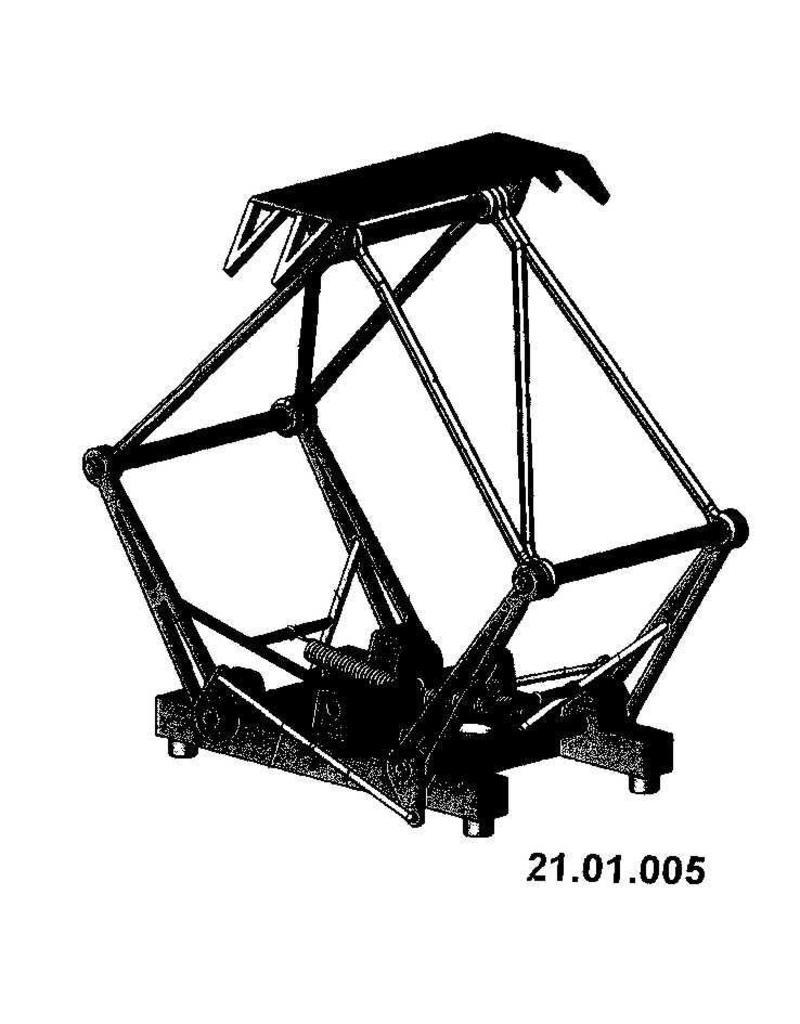 NVM 21.01.005 Pantograaf voor NS e-locs 1100, 1200, 1300