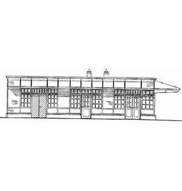 NVM 30.00.011 station NZH Noordwijk aan Zee en diverse abri's