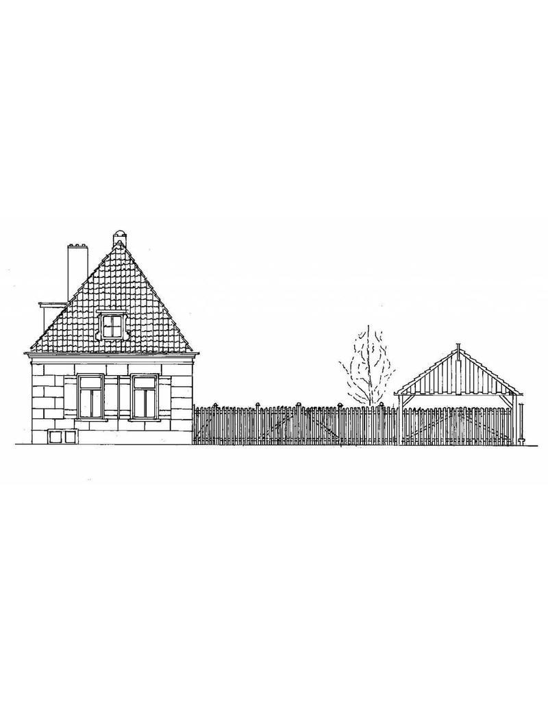 NVM 30.03.021 Woonboerderij; St. Vitusstraat, Naarden