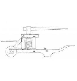 NVM 30.06.025 Kaapstand om de molen te kruien; kruiwagenmodel; rond 1400