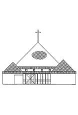 NVM 30.10.004 piramidekerk Bilthoven (1969)