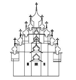 NVM 30.10.006 Transfiguratiekerktoren Kizhi (1714)