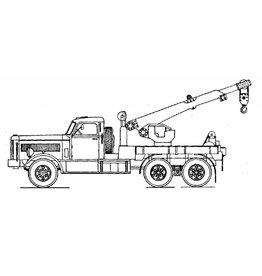 NVM 40.04.019 Diamond T Austin Western hydraulische kraan