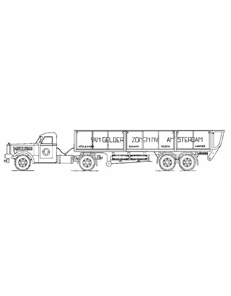 NVM 40.04.028 Diamond truck met oplegger