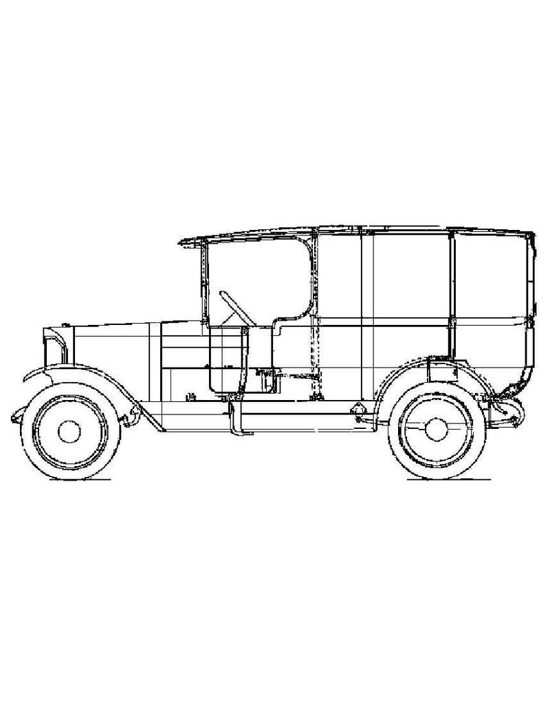 NVM 40.04.031 bakkerswagen op A-Ford chassis