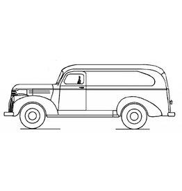 NVM 40.04.034 Chevrolet bestelwagen