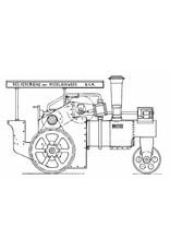 """NVM 40.10.002 stoomwals """"Bertha"""""""