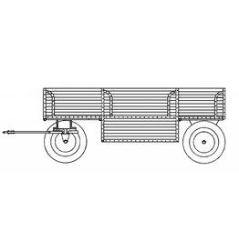 NVM 40.10.004/B aanhangwagen voor stoomtrekker Ransomes