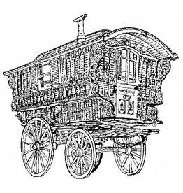NVM 40.30.006 zigeuner woonwagen/Ledge waggon