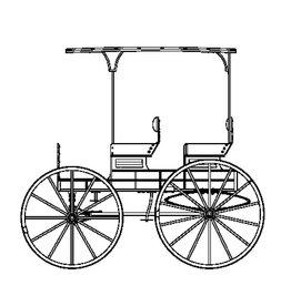NVM 40.30.061 Amerikaanse vierpersoons wagon